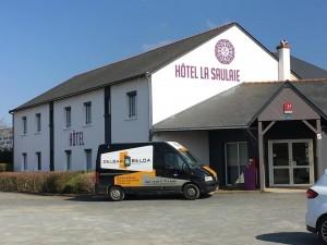 Das neue Zeichen des Hotel de la Saulaie ist hier!